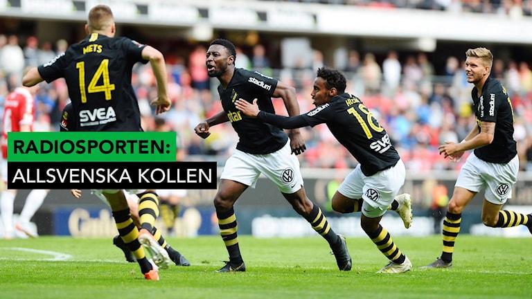 Chinedu Obasi hjälte för AIK. Patric Söderström/TT
