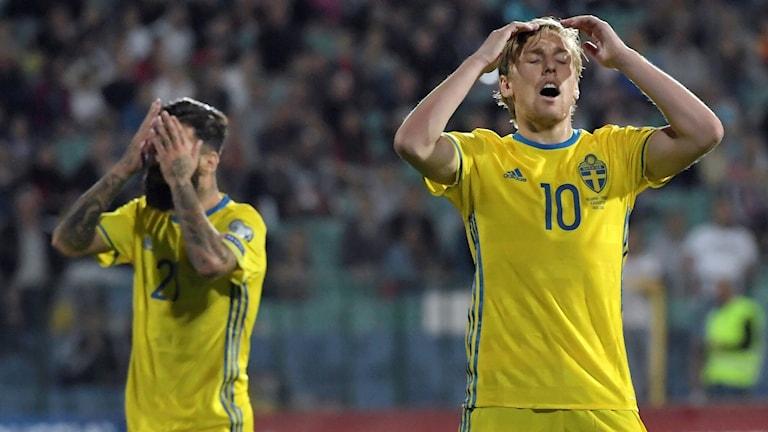 Chockförlust för Sverige
