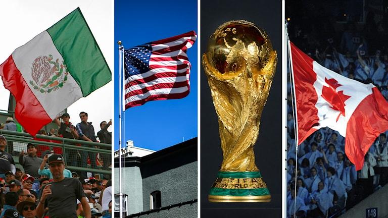 VM 2026 kommer spelas i Nordamerika.