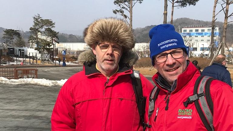 Dag Malmqvist och Torgny Mogren i Pyeongchang