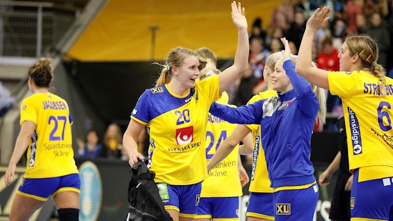 Sverige möter Danmark i kvartsfinal.