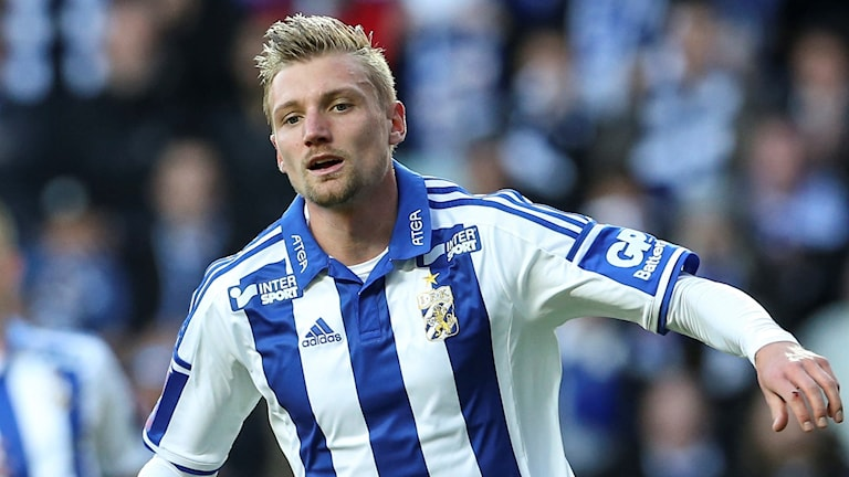 IFK Göteborgs Sebastian Eriksson.