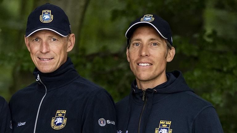 Peder Fredricson och Henrik von Eckermann