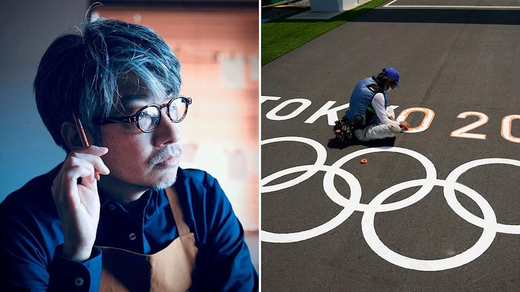 Kentaro Kobayashi, tidigare chef för invigningen av OS i Tokyo