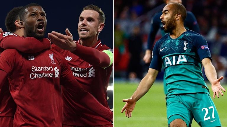 Liverpool ställs mot Tottenham i CL-final.