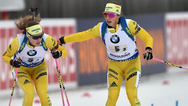 Anna Magnusson och Hanna Öberg.
