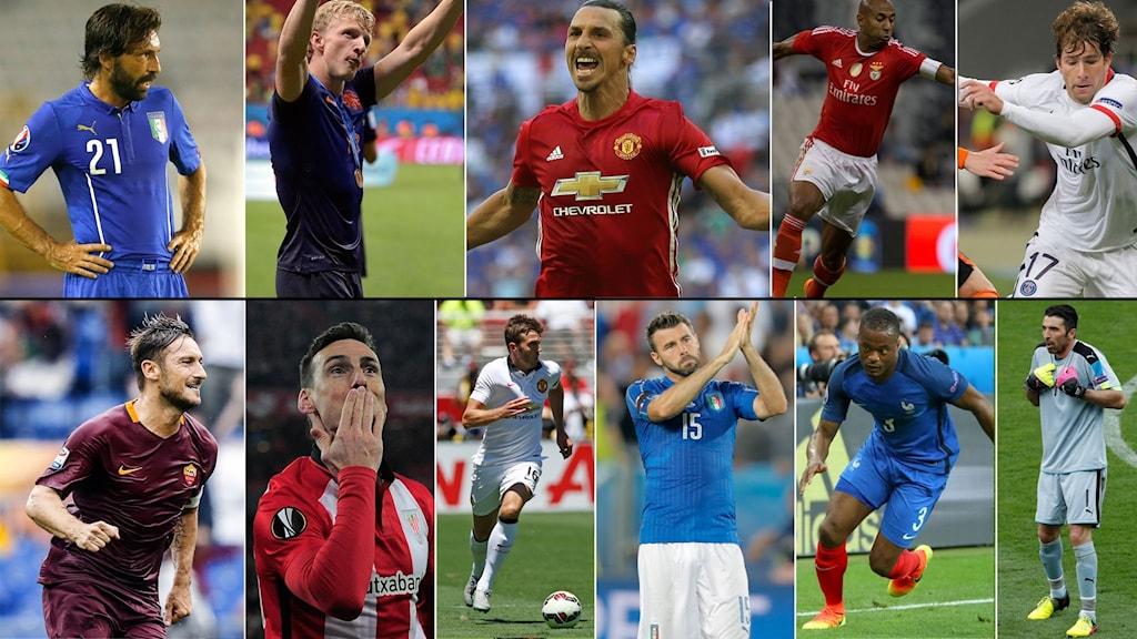 Här är de elva spelare som Richard Henriksson tagit ut i sin drömelva.