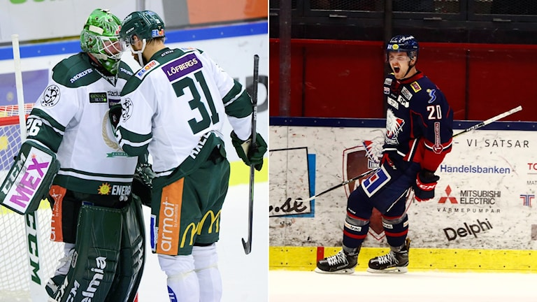 Färjestad möter Luleå och Linköping gästar Skellefteå.