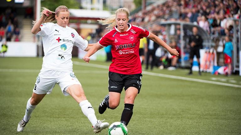 Rosengård-Limhamn/Bunkeflo under säsongens tidigare möte.