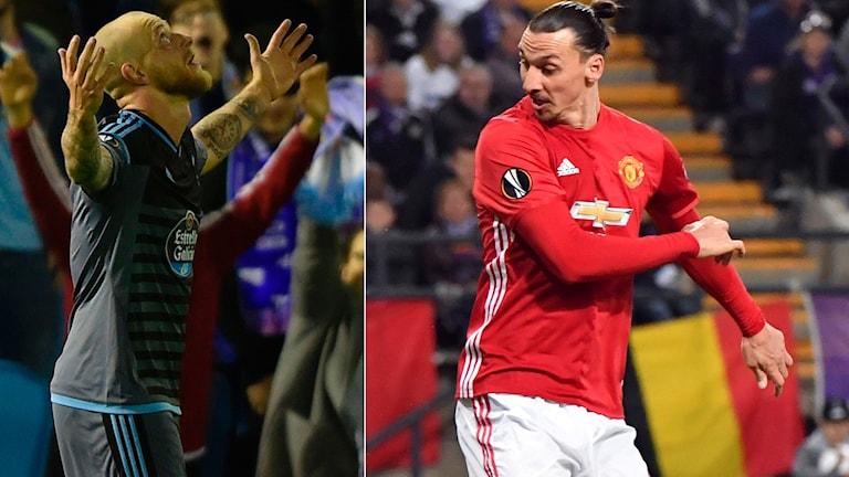 Både John Guidetti och Zlatan Ibrahimovic har chans att få spela Europa League-final.