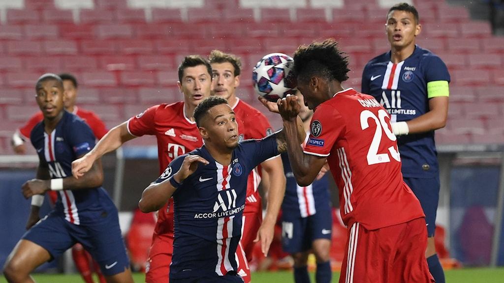 PSG mot Bayern München