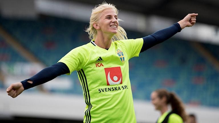 Sofia Jakobsson är redo för comeback.