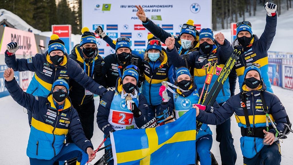 De svenska skidskyttarna har haft en fantastisk säsong.