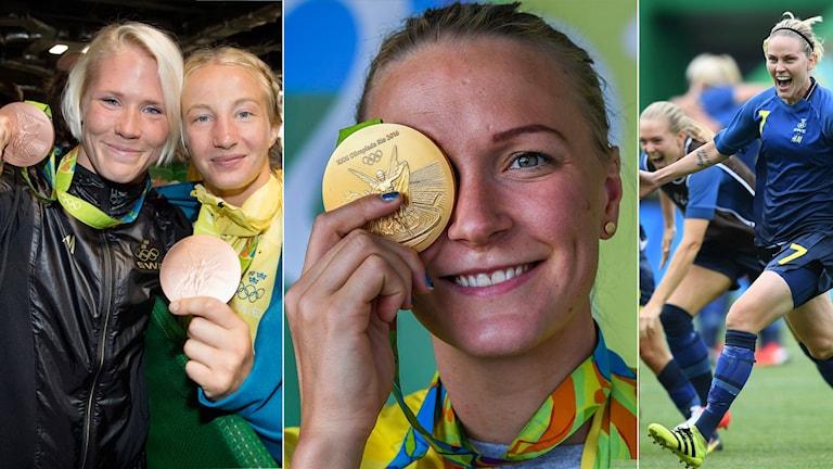Det var tjejerna som bärgade flest svenska OS-medaljer.