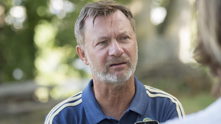 Förbundskapten Peter Gerhardsson.