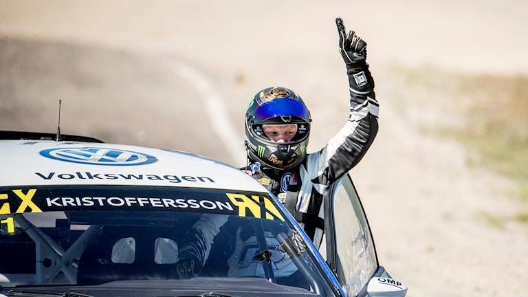 Johan Kristoffersson. Bild från en deltävling tidigare i år.