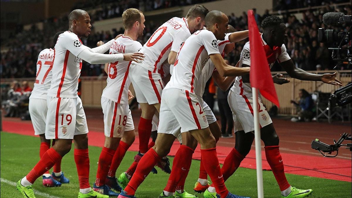 Monaco efter 2-0-målet.
