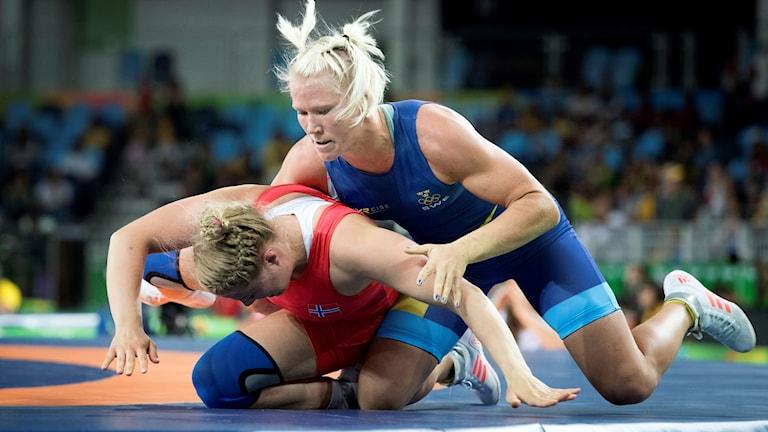 Jenny Fransson tog OS-brons i Rio.