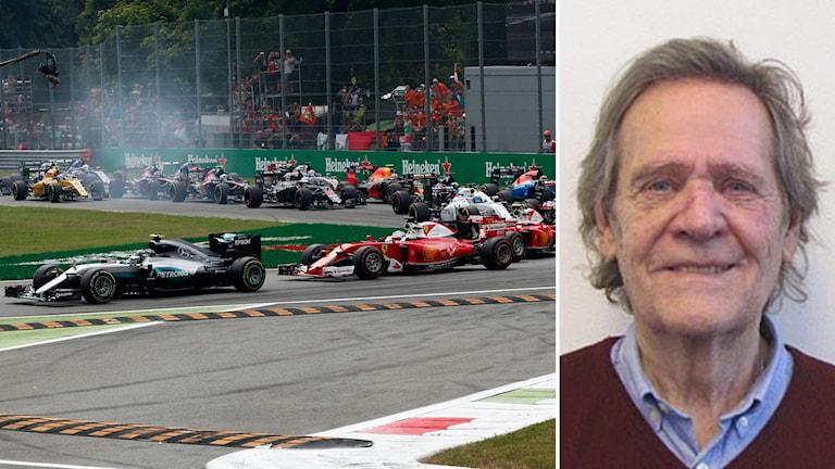 F1-lopp samt Fredrik af Petersens.