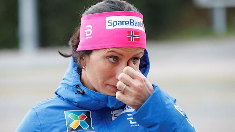 Marit Björgen talar ut om Therese Johaug.