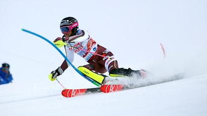 20171111 Frida Hansdotter i Levis slalom. Foto: Giovanni Auletta/TT