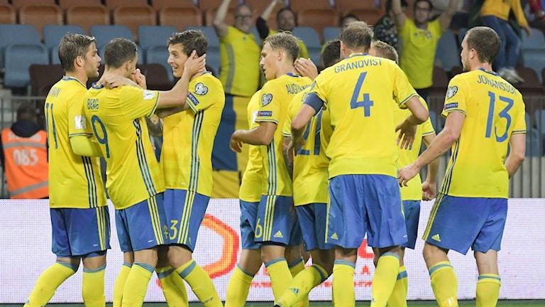 Sverige slog Vitryssland.