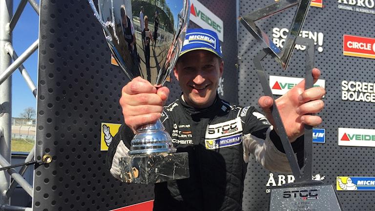 Robert Dahlgren vann två race och slutade tvåa i det sista.