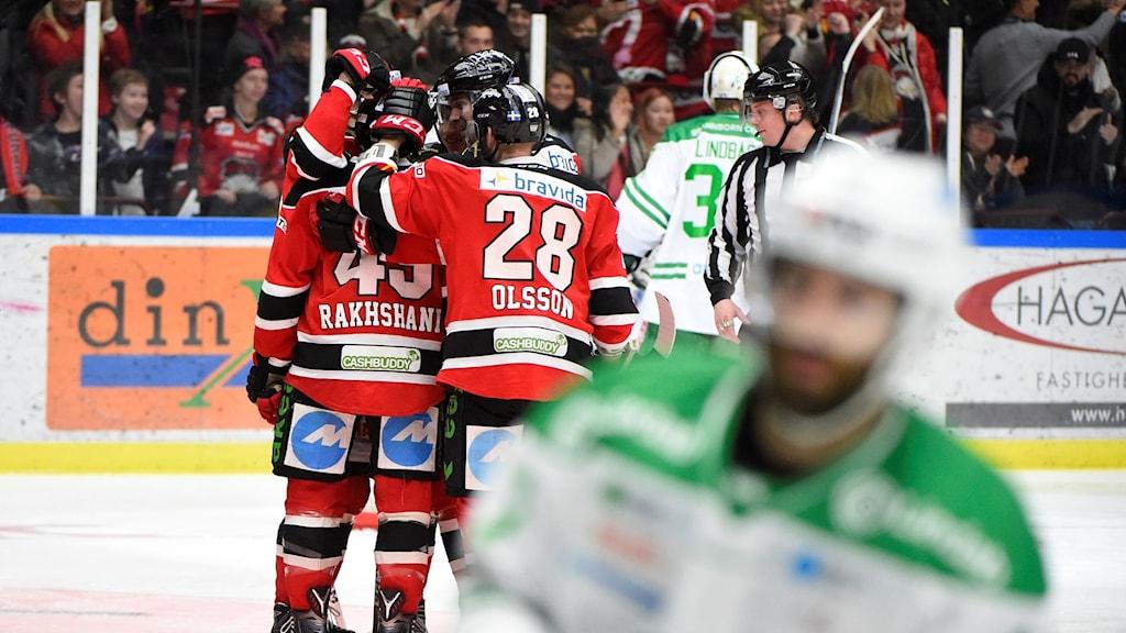 Malmö vann mot Rögle.