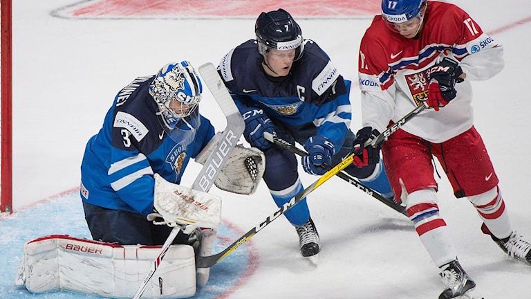 Finland föll mot Tjeckien i JVM.