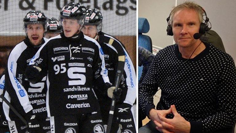 Göran Rosendahl tror på Sandviken.
