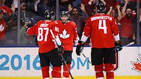 Kanada vann den första World Cup-finalen.