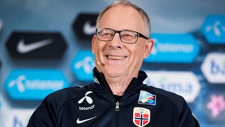 Lars Lagerbäck har tagit ut sin första norska trupp.