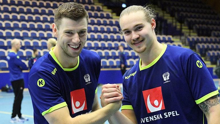 Niclas Ekberg och Lukas Nilsson.