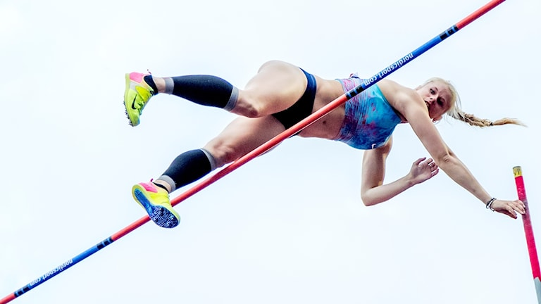 Michaela Meijer är svensk rekordhållare i stavhopp.