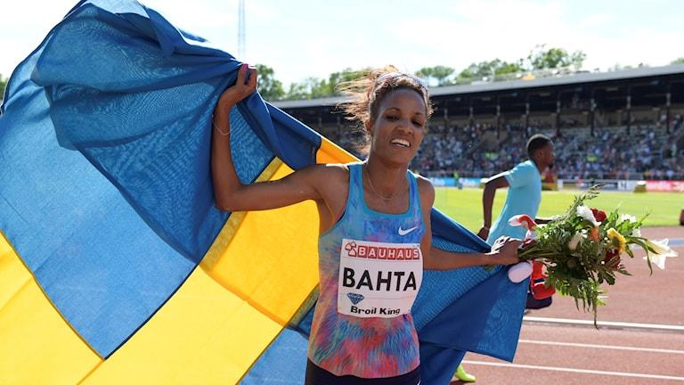 Meraf Bahta vinnare av 3000 meter