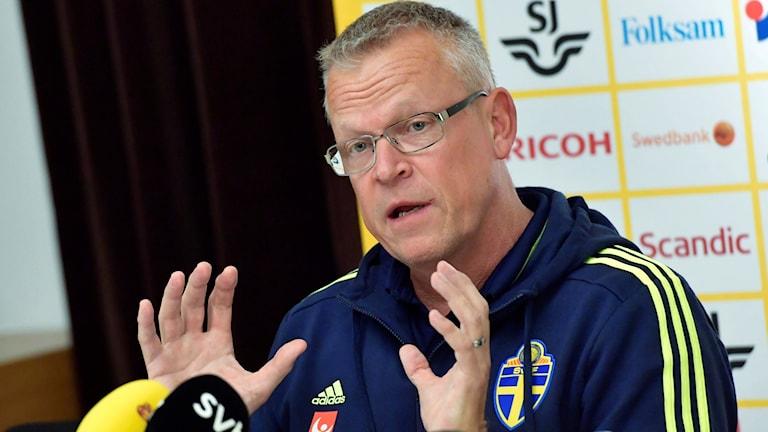Förbundskapten Janne Andersson fokuserar inte på tabelläget inför kvalavslutningen.