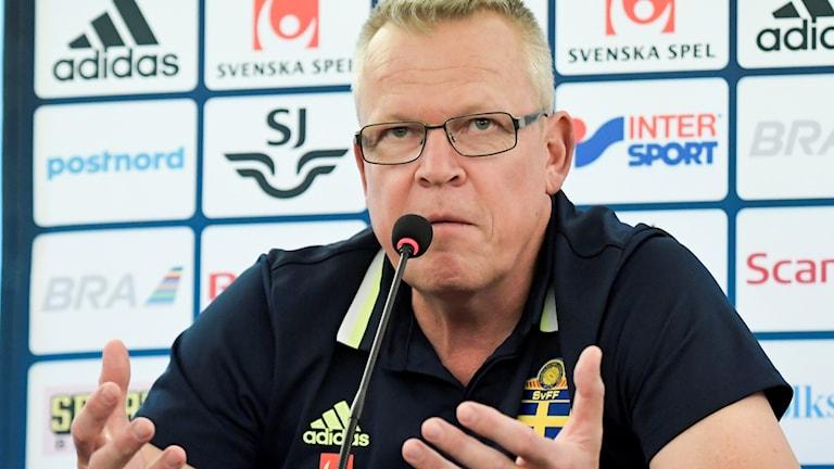 MARBELLA 20161107: Fotbollslandslagets förbundskapten Janne Andersson.