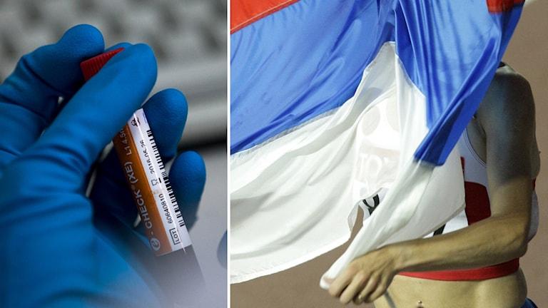 Ryssland riskerar uteslutning från internationell idrott.