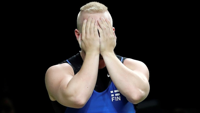 OS 2016 Finske tyngdlyftaren Milko Olavi