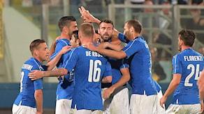 2015 Italiens fotbollslandslag.