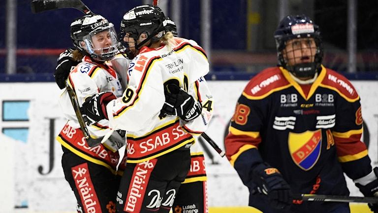 20170507 Luleå vann över Djurgården i SDHL-premiären.