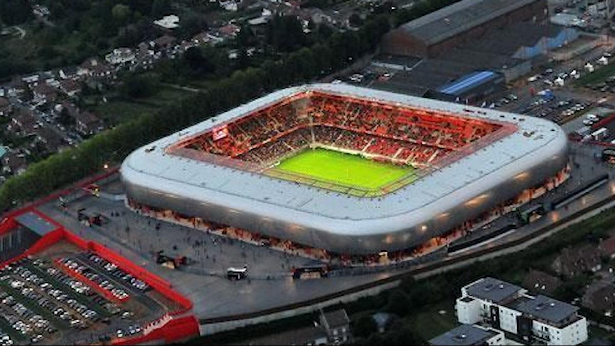 Stadion i Valenciennes.