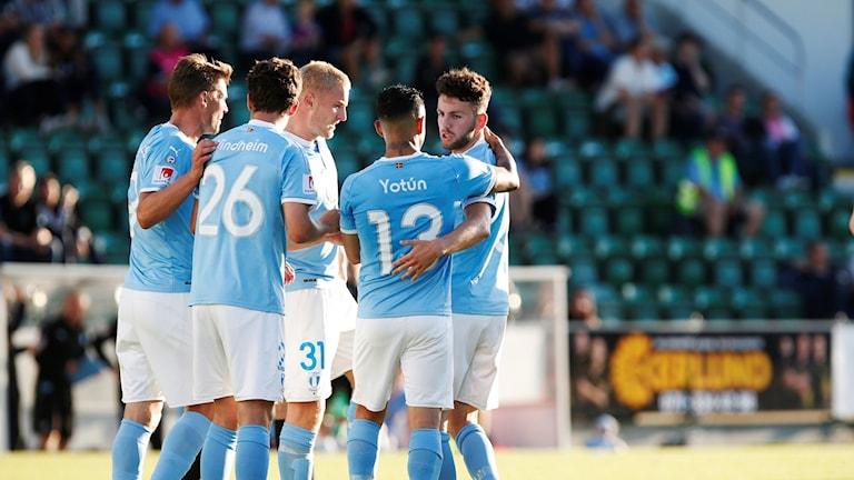 Inhopparen Erdal Rakip ordnade tre poäng för Malmö FF.