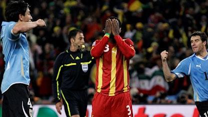 Asamoah Gyan kommer aldrig glömma VM 2010.