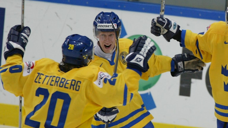 Jörgen Jönsson och Henrik Zetterberg 2005.