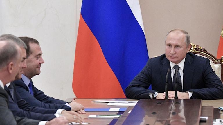 2019 Vladimir Putin. Foto: Alexey NIKOLSK/TT