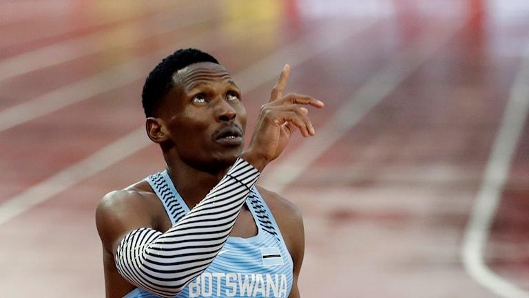 Isaac Makwala är vidare till final.