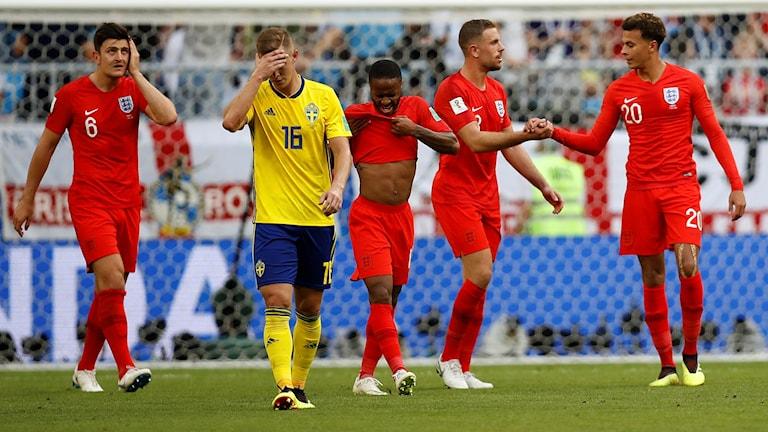 Sverige är utslaget ur VM.