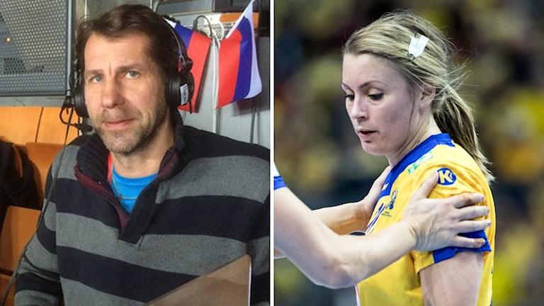 Magnus Wislander och Isabelle Gulldén.