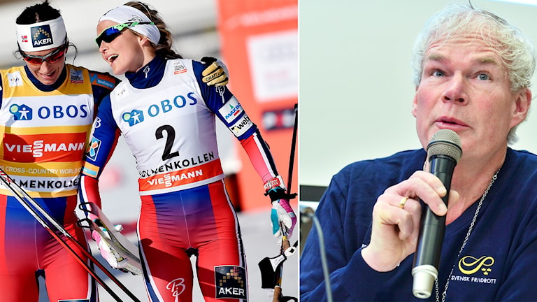 Sverker Nilsson förklarar att astmamedicin, som bland annat Marit Björgen och Therese Johaug använder, inte är effektiv för friska idrottare.